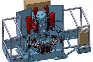 Fabrication machine industrielle